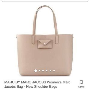 MARC BY MARC JACOBS Taupe Grey tote bag